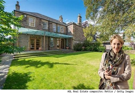 jk rowling house j k rowling lists farmhouse in edinburgh scotland for