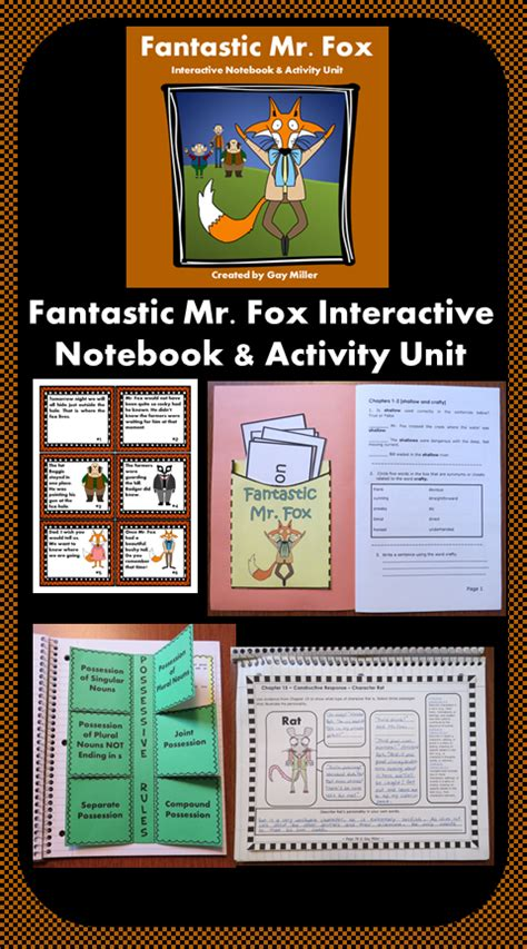 printable version of fantastic mr fox fantastic mr fox