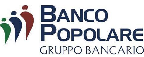 quotazione banco popolare banco popolare anticipa progetto fusione unica