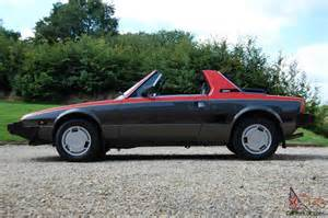 Fiat Bertone For Sale 1984 Fiat X19 Vs Bertone