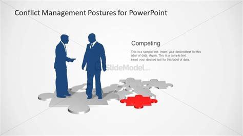 conflict of interest management plan template competing slide design business postures talking slidemodel