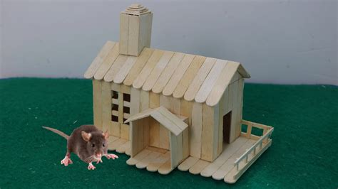 how to house how to make stick house for rat