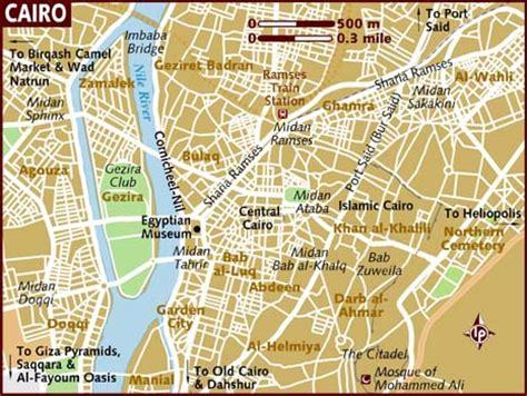 cairo map map of cairo
