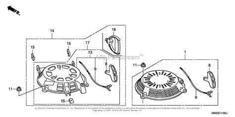 honda gc160 parts diagram honda engines gcv160la0 s3b engine usa vin gjara