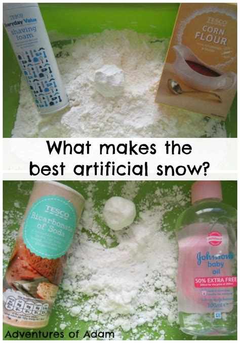 what makes the best artificial snow artificial snow and