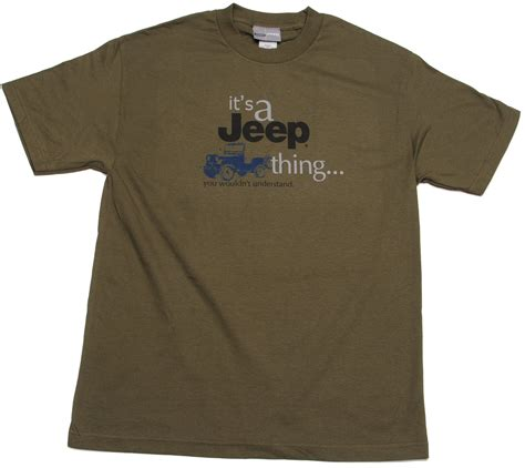 jeep clothing jeep clothing it s a jeep thing short sleeve tee shirt