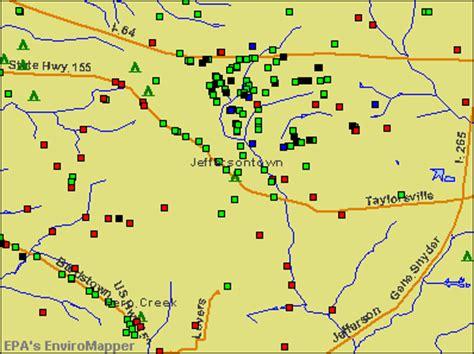 jeffersontown kentucky map jeffersontown kentucky ky 40291 profile population