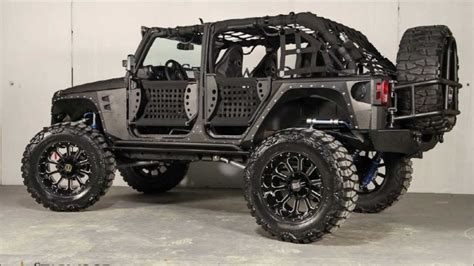 Badass Jeeps For Sale 2013 Jeep Wrangler Unlimited Metal Jacket By Starwood