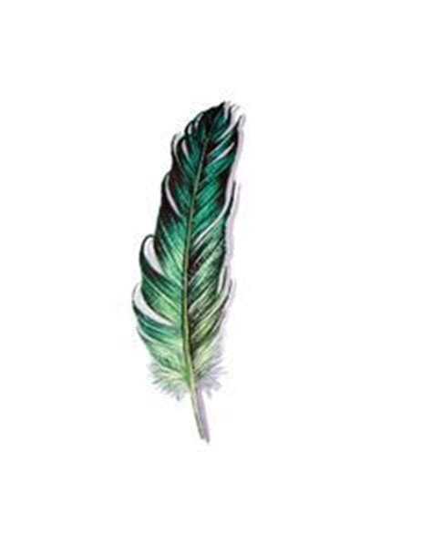 green feather tattoo i want tattoos and piercings