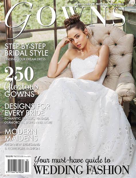 Wedding Dress Magazines gowns magazine on sale modern wedding