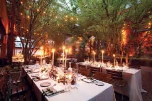 Backyard Wedding Nyc New York Wedding Guide The Reception Indoor Outdoor