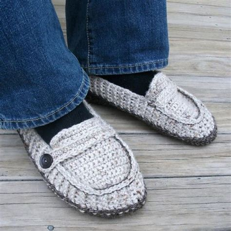 free crochet pattern for vans slippers free crochet pattern loafer slippers squareone for
