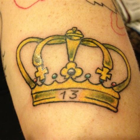 friday the 13th tattoos las vegas friday the 13th crown by bean at living dead