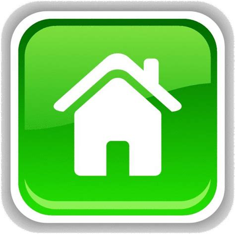 image for home button png logo home and
