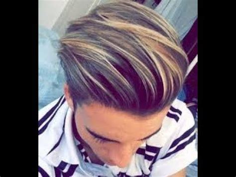 best hair color highlights and ideas for men youtube