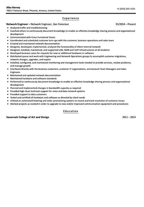 ccna resume sample lovely network engineer resume sample free