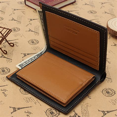 Frogwatch Dompet Panjang Genuine Leather Pu genuine leather mens wallet business credit card money holder purse bifold gift coffee