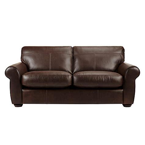 john lewis leather sofa buy john lewis madison semi aniline large leather sofa