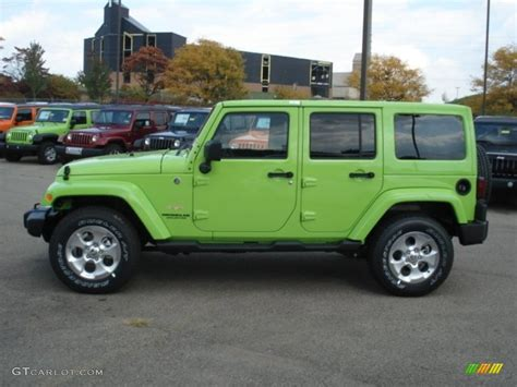 green jeep wrangler unlimited 2013 gecko green pearl jeep wrangler unlimited 4x4
