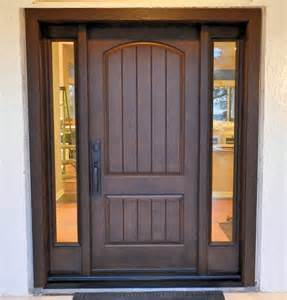 Precision Door And Window by Thermatru Classic Craft Rustic Door With Two Low E Glass