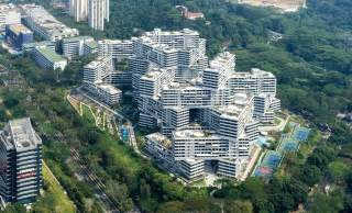 The interlace apartments in singapore architecture
