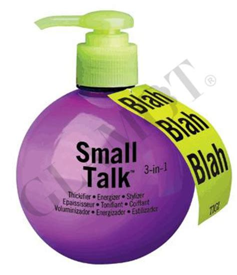 Tigi Bedhead Small Talk Thickener by Tigi Bed Small Talk Glamot
