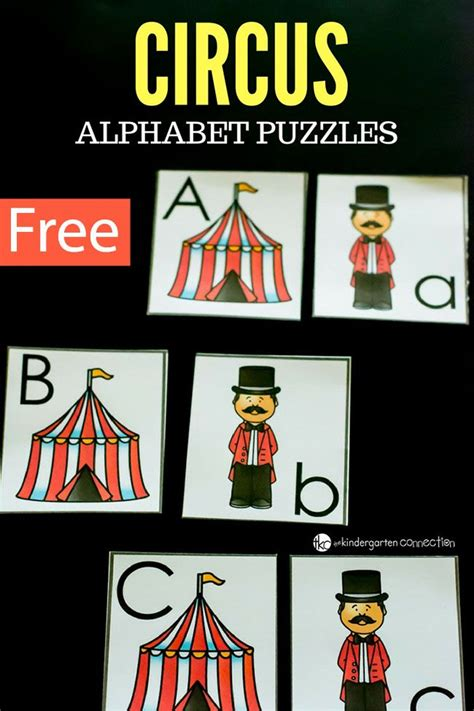 Thematic Magnet Puzzle Circus 30 best circus activities for images on circus activities learning activities