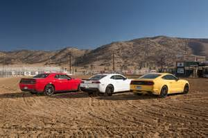 totd ford mustang gt camaro ss 1le or challenger r t