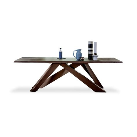 table l big table l 300 table with natural edges by bonaldo lovethesign