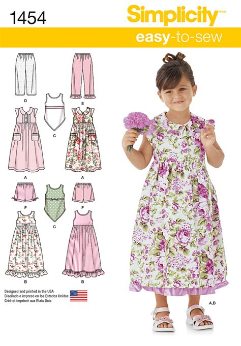 Ultimate Trouser Pattern Review It S Sew Simple | simplicity 1454 child s dress slip dress or top and pants