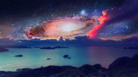galaxy digital space galaxy digital hd wallpaper