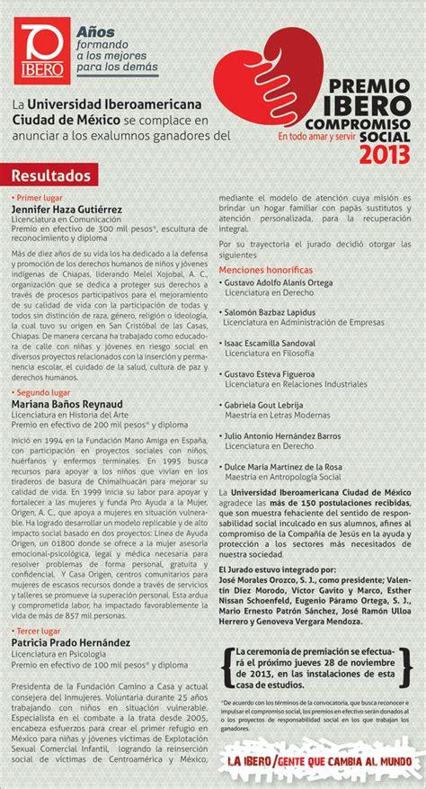 Calendario Uia Premio Ibero Compromiso Social Universidad