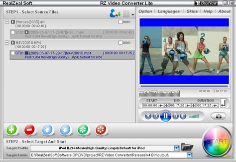 converter lite rz video converter lite easy to use video converter software