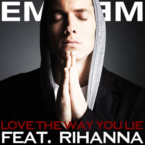 eminem love the way you lie coverlandia the 1 place for album single cover s