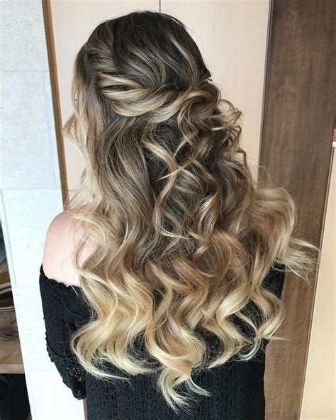 hairstyle ideas half up half down 10 glamorous half up half down wedding hairstyles from