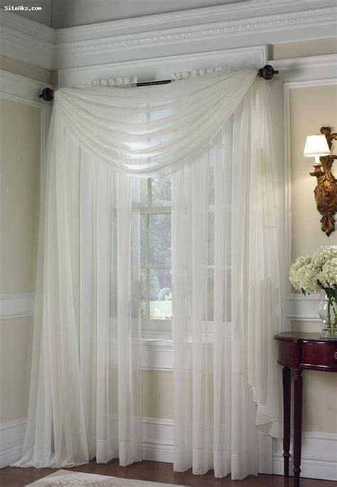 Curtain Ideas For Bedroom Windows Best 25 Sheer Curtains Ideas On Pinterest Curtain Ideas For Living Room Window Treatments
