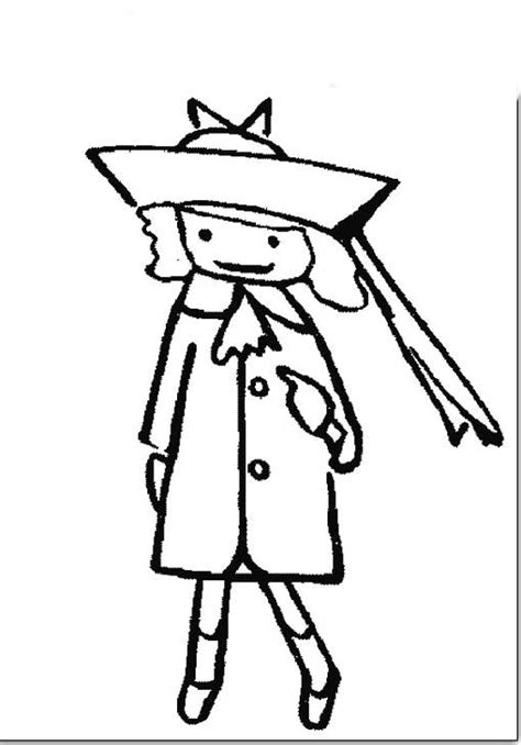 free coloring pages of madeline