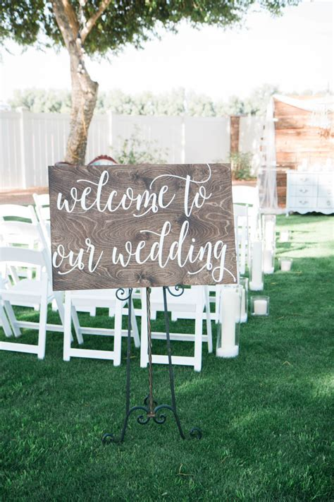 Wedding Welcome Sign by Welcome To Our Wedding Wooden Sign Wedding Sign Wood Sign