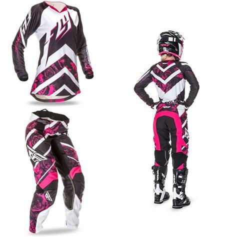 womens motocross gear combos 2016 fly racing kinetic womens gear combo pro style mx
