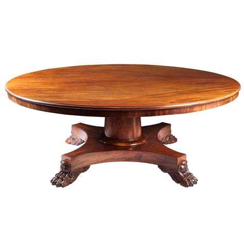 6ft Dining Table 6ft Regency Mahogany Pedestal Dining Table For Sale