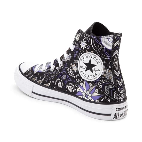 converse tattoo converse chuck all hi sneaker black