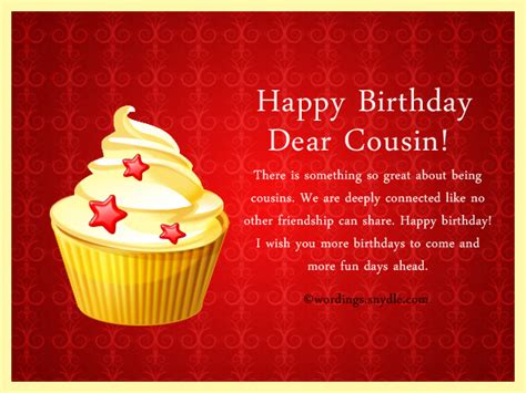 Happy Birthday Wishes For Cousin Birthday Wishes For Cousin Wordings And Messages