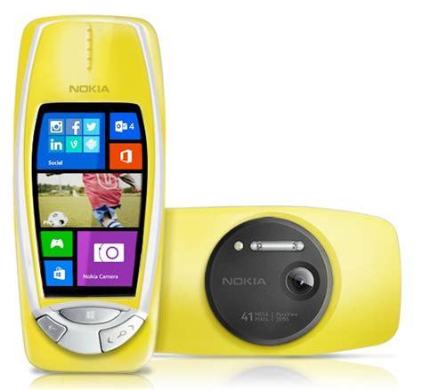 Nokia Reborn nokia 3310 reborn hadir dengan windows phone dan kamera