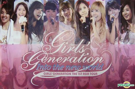 Generation Into The New World The 1st Asia Tour the 1st asia tour into the new world promo poster 3