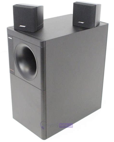 Speaker Bose Acoustimass bose acoustimass 3 series iv speaker system whybuynew
