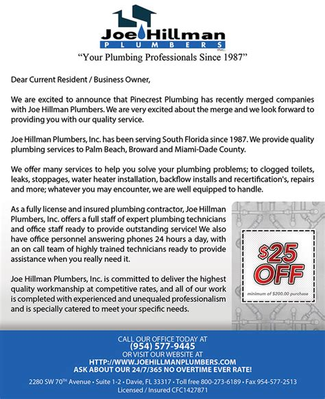 Hillman Plumbing by Tight Designs Printing Of Florida Page 12 Of 53 Servicing Web Development And Traditional