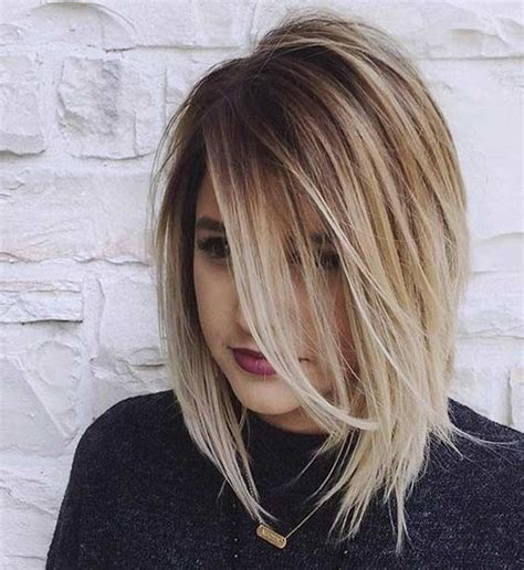 ombre lob hair 20 adorable short hairstyles for girls popular haircuts