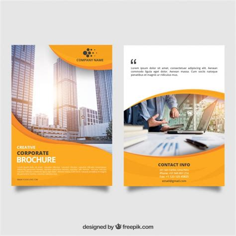 Business Vectors Photos And Psd Files Free Download Free E Brochure Templates