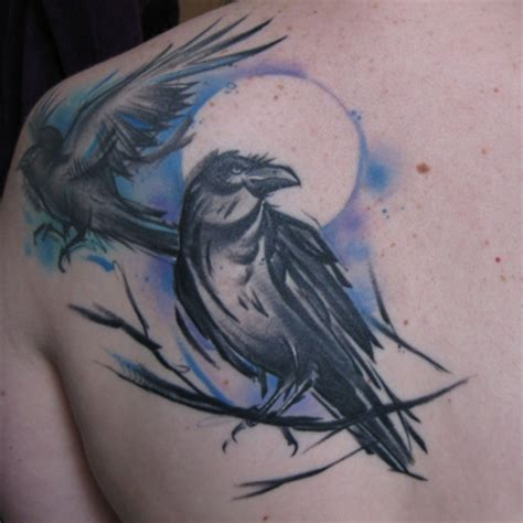 rabe tattoos und rabebilder