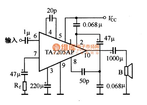 integrated circuit application integrated power lifer application reference circuit lifier circuit circuit diagram
